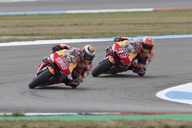 画像: 【モトGPオランダGPP1日目】マルケスは7位、ロレンソは残りのオランダGPを欠場
