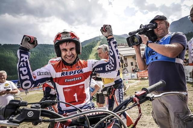 画像: 【トライアル世界選手権2019 フランスGP】トニ・ボウが7連勝でタイトル確定