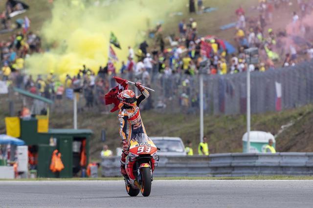 画像: 【モトGP2019 チェコGP】マルク・マルケスがモトGPで50勝を達成
