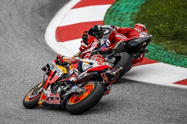 画像: 【モトGP2019 オーストリアGP】マルケスは接近戦の末2位表彰台