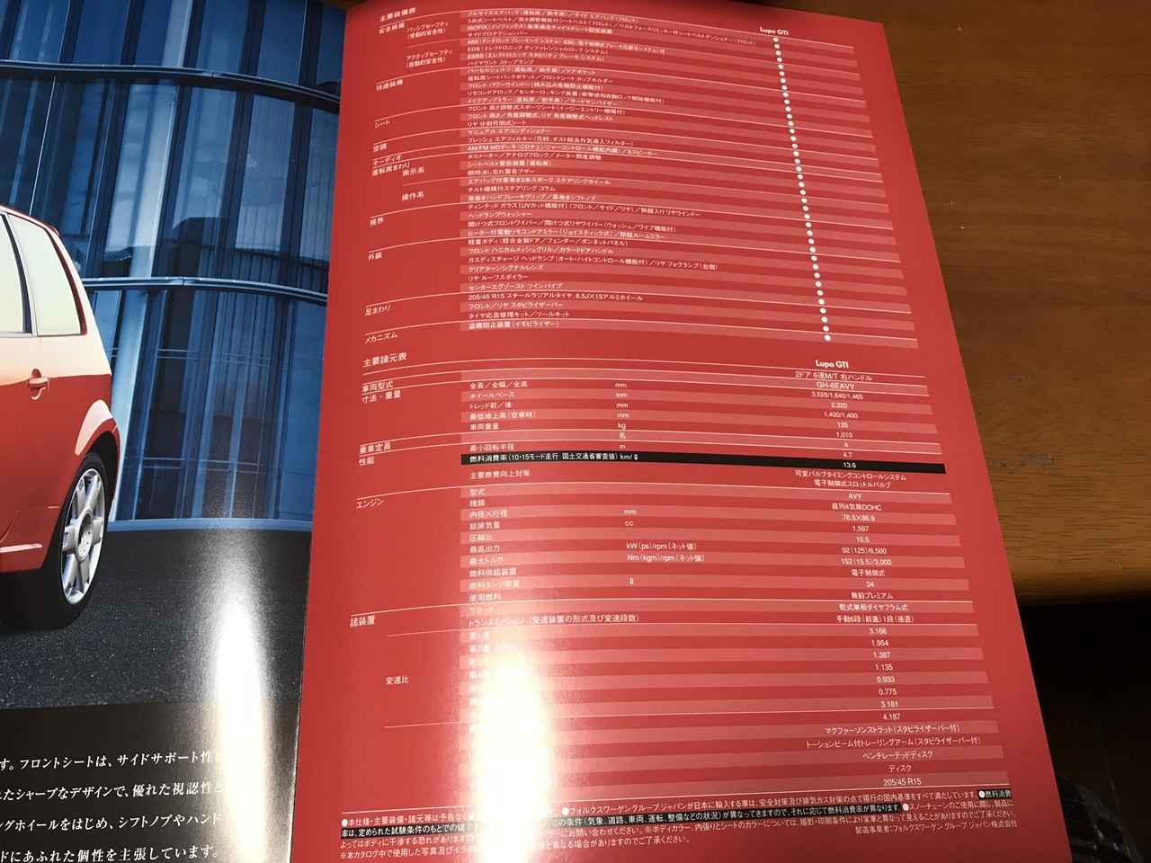 画像5: 懐カタログ'03「フォルクスワーゲン ルポ GTI」
