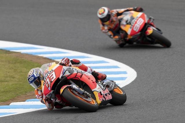 画像: 【モトGP日本GP1日目】マルケスは初日3位。ロレンソは17位