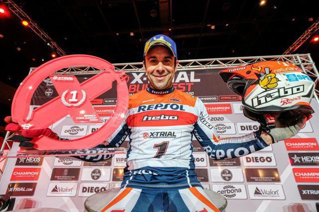 画像: 【Xトライアル第3戦 ブダペスト】トニ・ボウが僅差で勝利し、リードを広げる