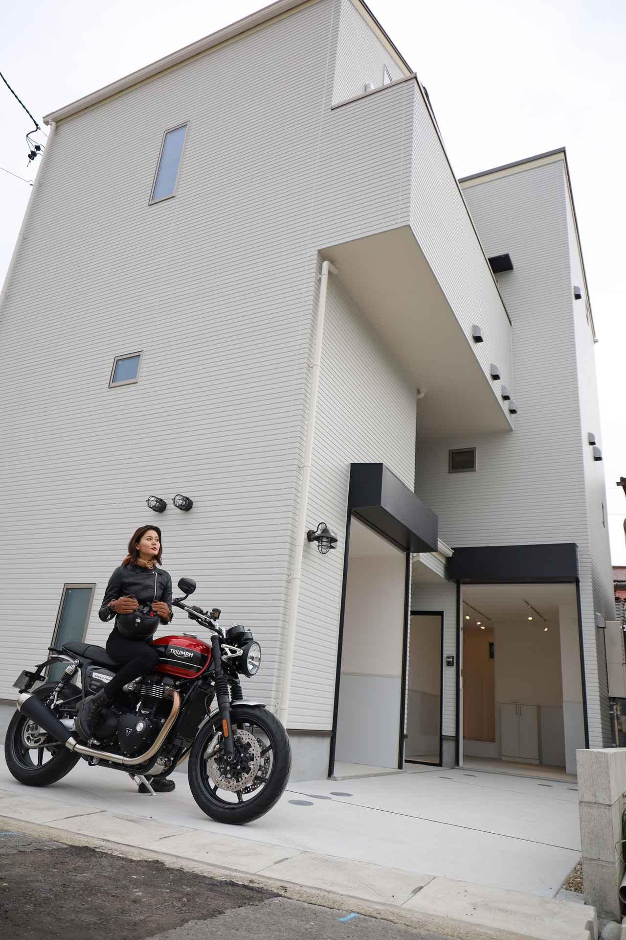 画像1: 名古屋初☆バイク専用ガレージハウス誕生!