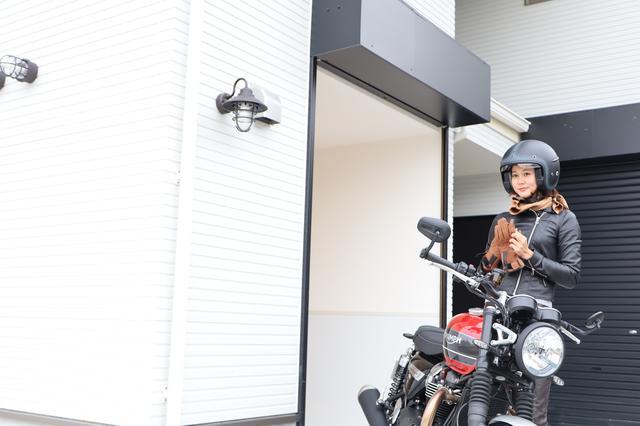 画像29: 名古屋初☆バイク専用ガレージハウス誕生!