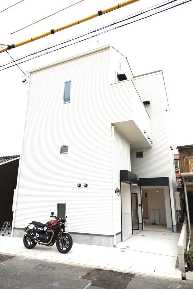 画像30: 名古屋初☆バイク専用ガレージハウス誕生!