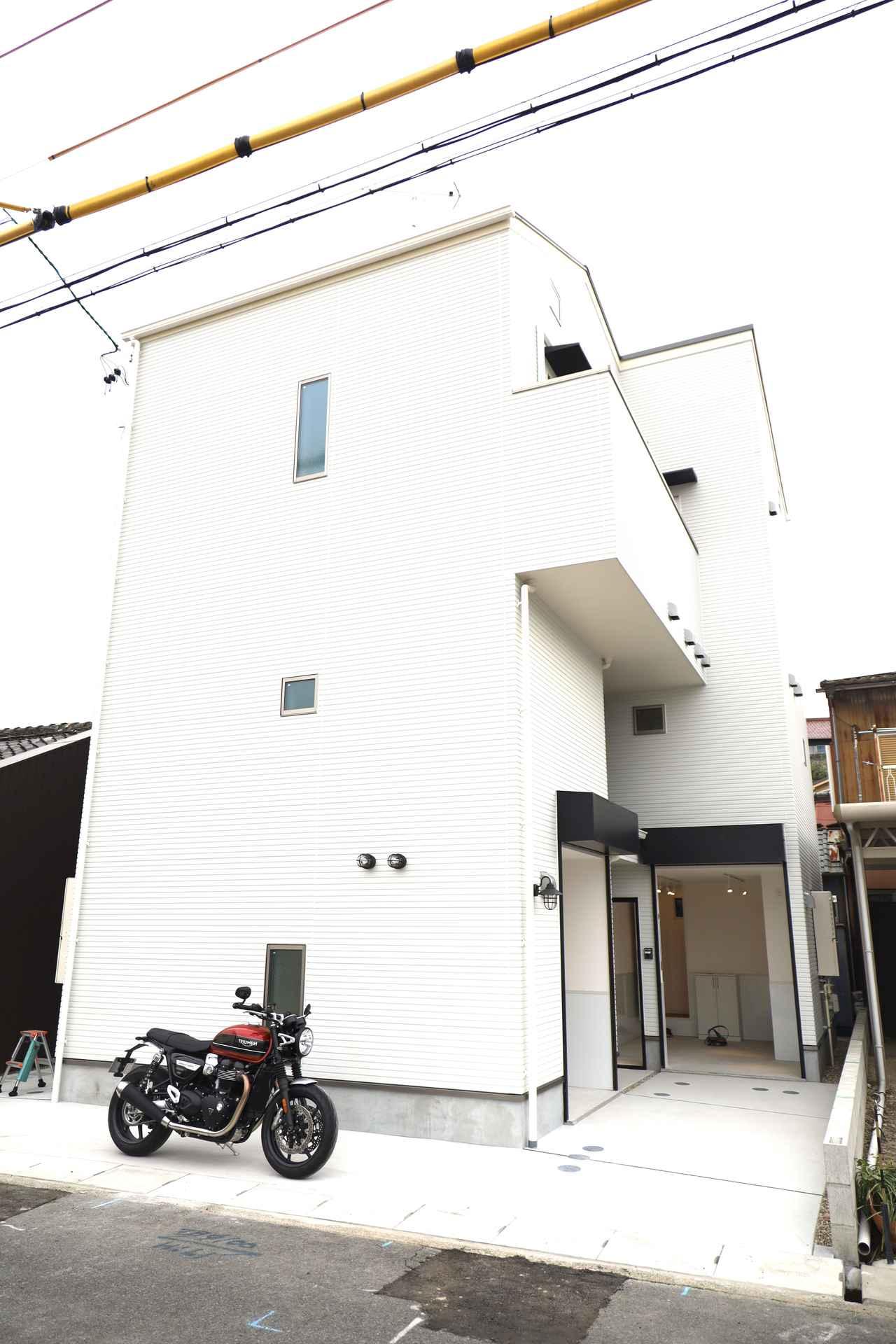 画像24: 名古屋初☆バイク専用ガレージハウス誕生!
