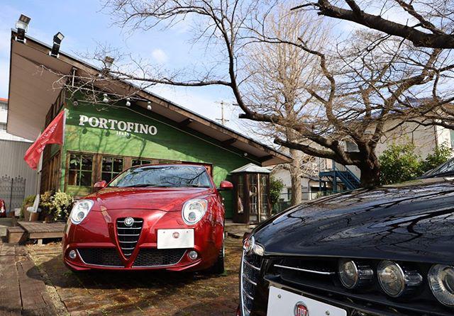 画像: 友人の岸さんがイタリア車ショップを始めるというので遊びに行って来ました☺️ その名も  @portofino.1771  ポルトフィーノ!イタリアの素敵な港町の名前ですね♪ 賑やかな港の様に沢山のお客さまに来てもらいたいとの想いだそうです。 敷地内 ... www.instagram.com