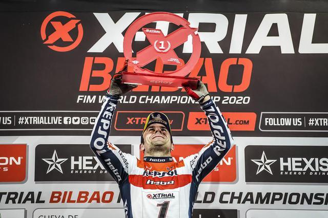 画像: 【Xトライアル2020】トニ・ボウが2020年タイトルを獲得