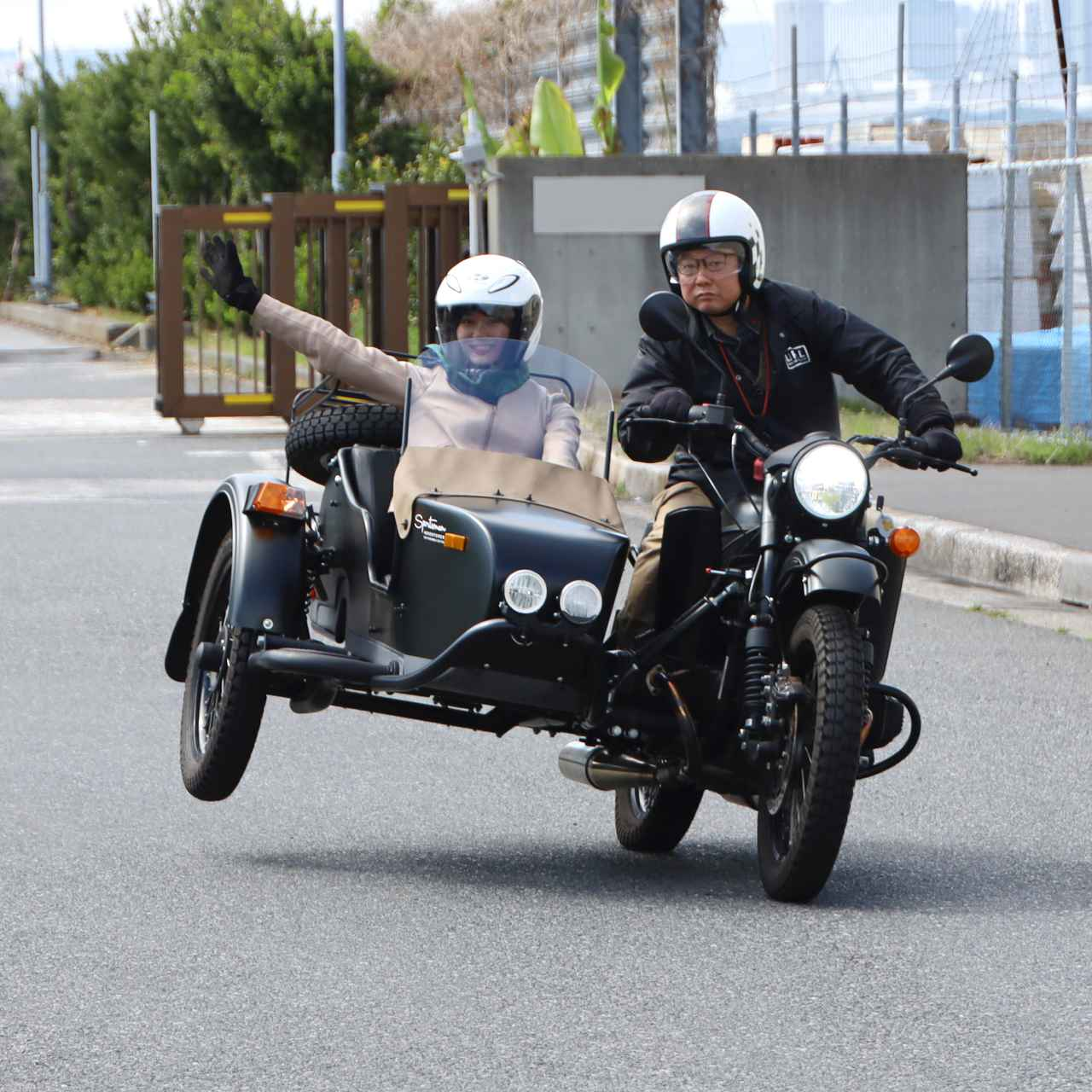 画像4: ーいざ、東京湾を望める試乗コースへ