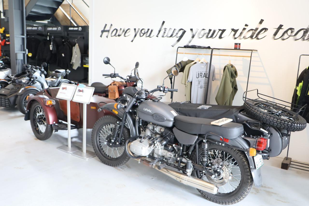 画像: ーロシア軍がドイツ軍から密輸したコピーバイク(?!)