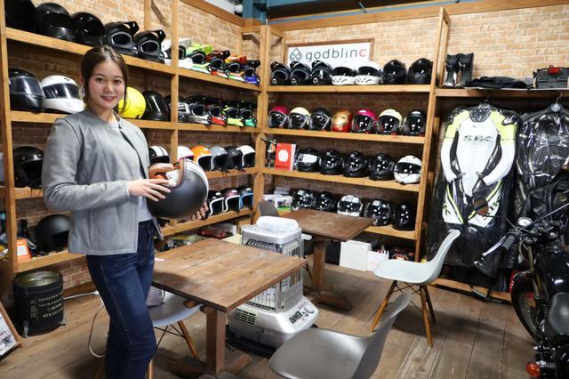 画像4: 【god blinc(ゴッドブリンク)】今話題のオートバイ用ヘルメットメーカー