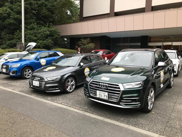 画像: オフィシャルカーは各社から話題のモデルが集められた。