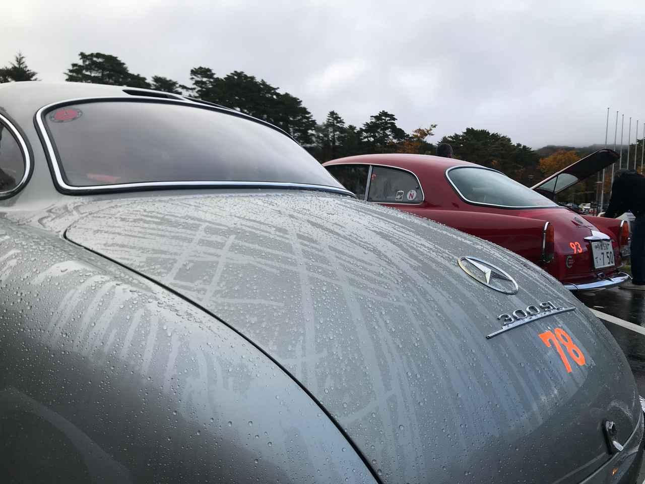 画像: 雨上がりの朝。水滴がボディで美しい。