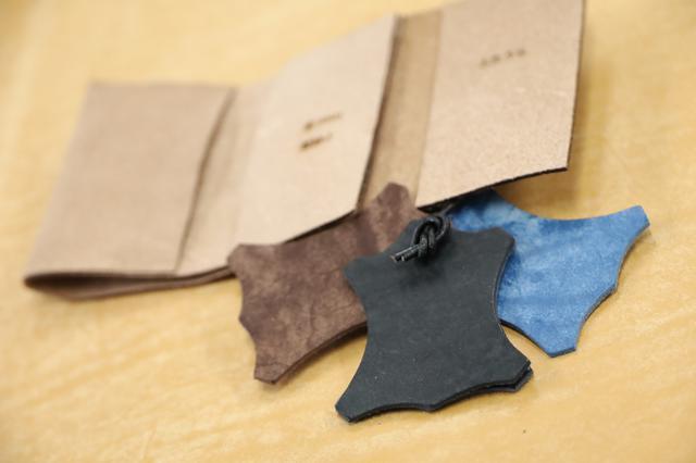 画像1: 革茶屋×YUコラボ ミニ財布の機能(案)