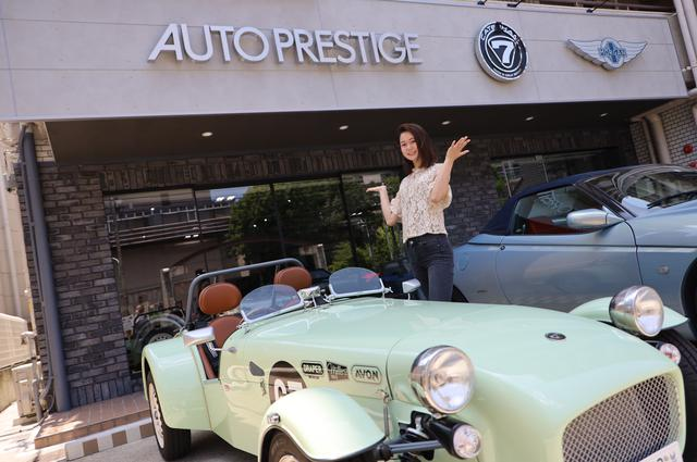 画像: さすが、お店にはマニアックな車を愛するお客さんが集まります。