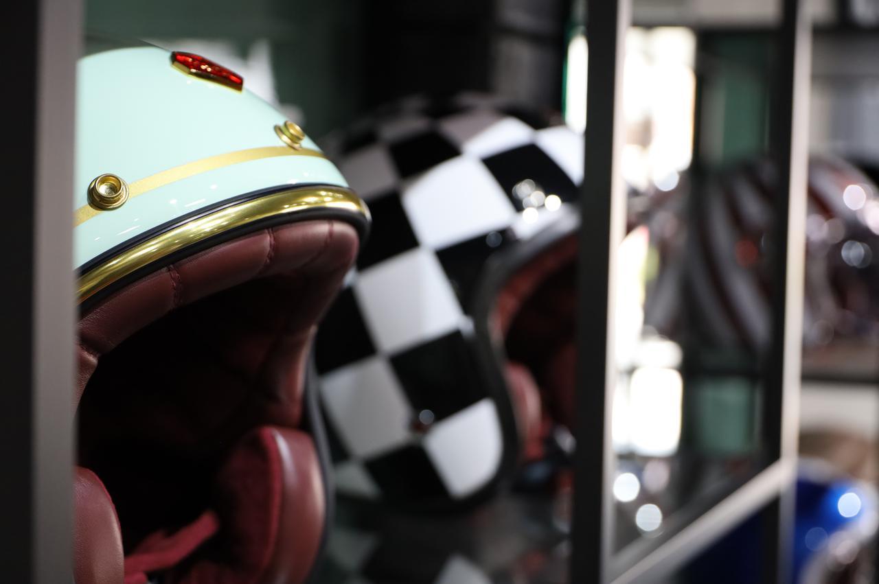 画像: Rubyのヘルメット
