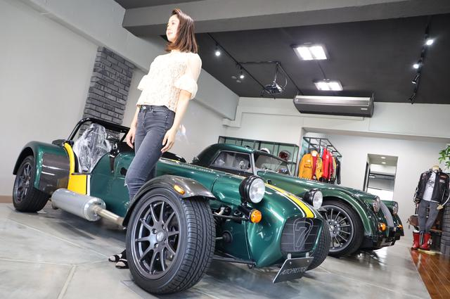 画像: 日本に2台のみCATERHAM SEVEN SUPER LIGHT R300 F1 TEAM LIMITED EDITION