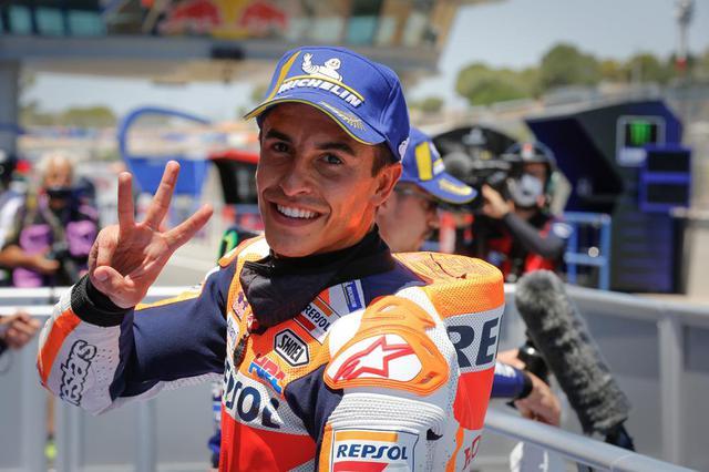 画像: 【モトGP2020 スペインGP2日目】マルク・マルケスは予選でフロントローを獲得