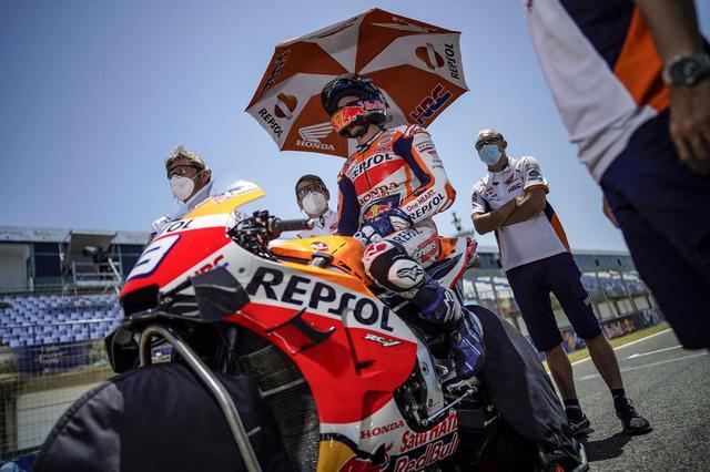 画像: 【モトGP2020 アンダルシアGP決勝】アレックス・マルケスが暑さで厳しいレースで8位