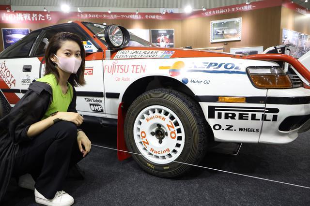 画像: TOYOTAセリカ GT-FOUR ST165型、1990年サファリラリー優勝車