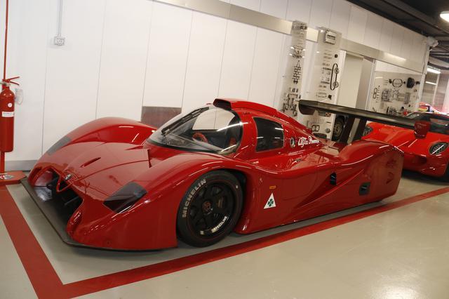 画像: 「SE048SP」。1990年代初頭にグループCレーシングカーとしてアバルトによって開発されながら、ついぞ実戦に参加することはなかった。