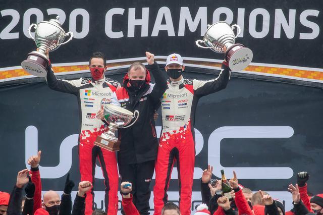 画像1: オジエ、WRCモンツァ優勝/自身7度目のドライバーズタイトル獲得