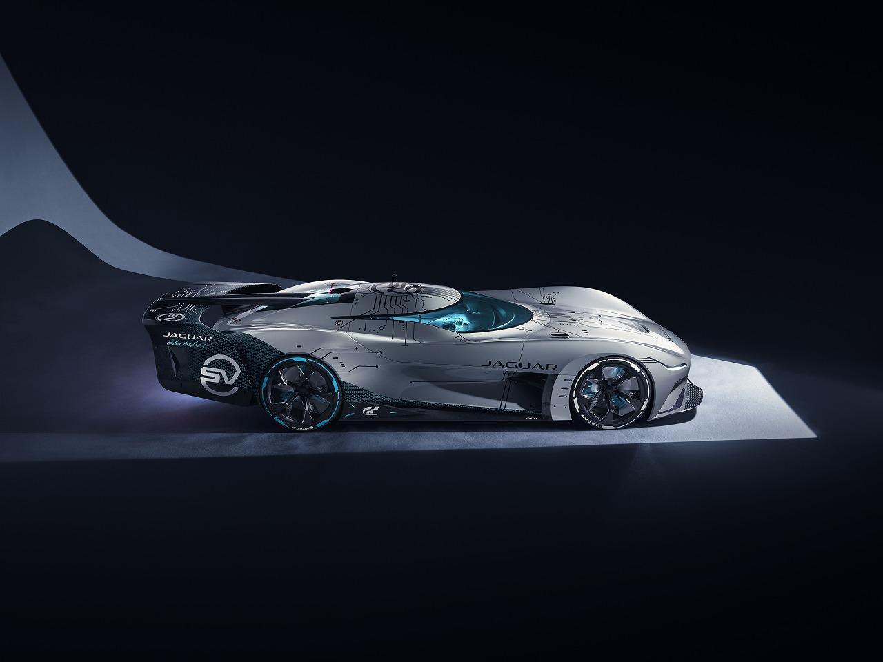 画像3: 「VISION GRAN TURISMO SV」発表 究極のゲーム用フル電動耐久レーシングカー