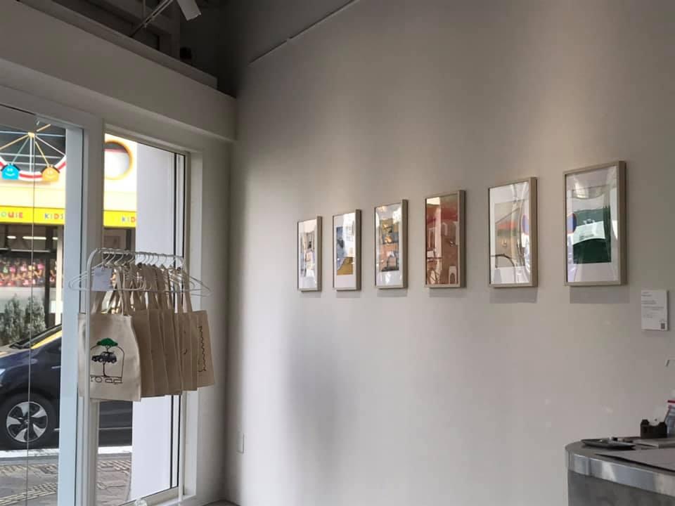 画像3: 愛知県豊田市にある East Enders Coffeeにて 【くらちなつき 個展「ROAD」】が開催中です。