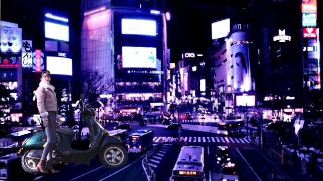 画像: ぶらり渋谷 Vespaと私とソロツーリング Shibuya Solo Touring Full Ver. youtu.be