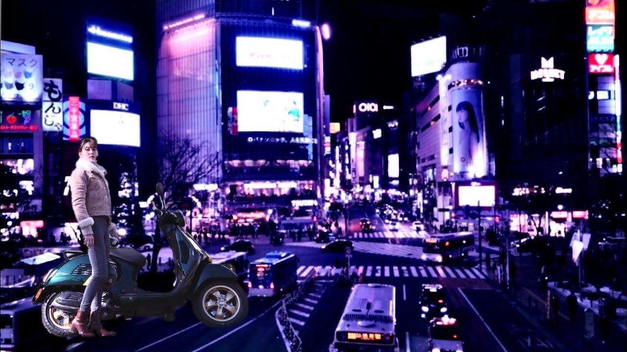 画像: ぶらり渋谷|Vespaと私とソロツーリング|Shibuya Solo Touring Full Ver. youtu.be