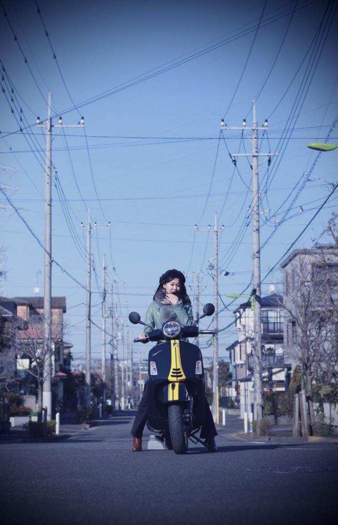 画像: 暮らしを彩るバイク、Vespa。