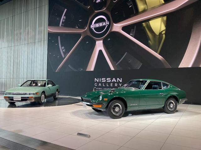画像: 日産グローバル本社・グリーンの車特別展示