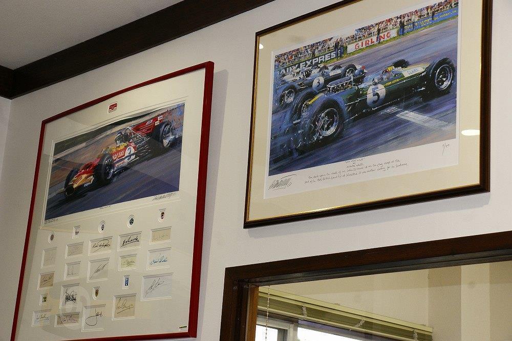 画像20: 英国車の正規ディーラー「ACマインズ」さんへ訪問