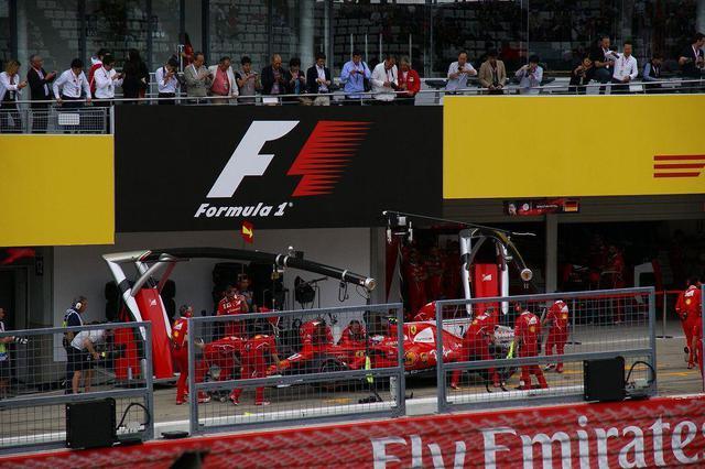 画像1: レース観戦