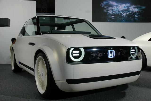 画像: Honda Urban EV Concept ホンダ・アーバン・イーブイ・コンセプト