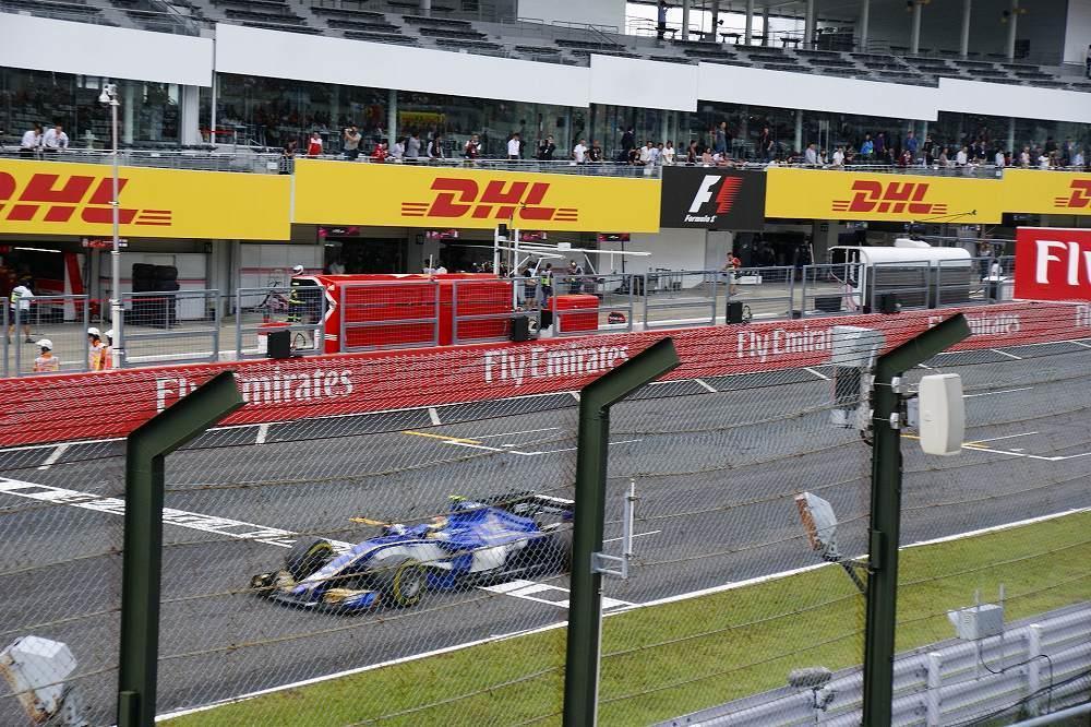 画像2: レース観戦