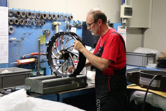 画像: Paolo Coratta パオロ・コラッタ Modular wheels, QC for Motrobike and OES モジュラーホイール、バイク&OES QC
