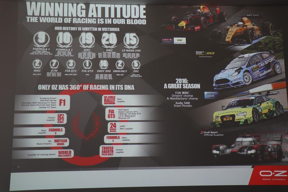 画像8: OZの歴史と取り組み、レースでの実績について知る
