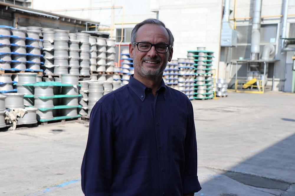 画像: Romano Reffo ロマーノ・レッフォ H.R. Manager ヒューマンリソースマネージャー