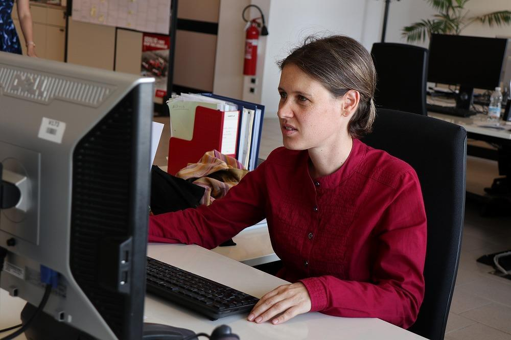 画像: Sigrid Bachmann シグリッド・バッハマン Sales Customer Service Japan セールス カスタマー サービス ジャパン