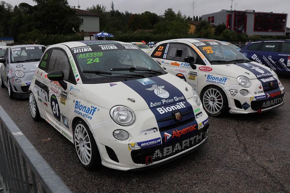 画像2: レース準備