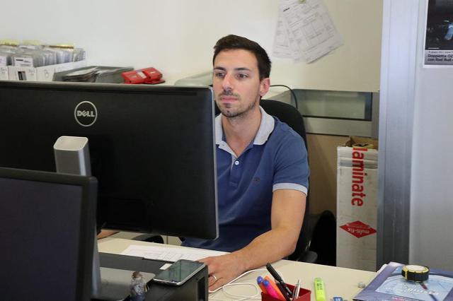 画像: Emiliano Visentin エミリアーノ・ヴィセンティン Operation Manager オペレーションマネージャー