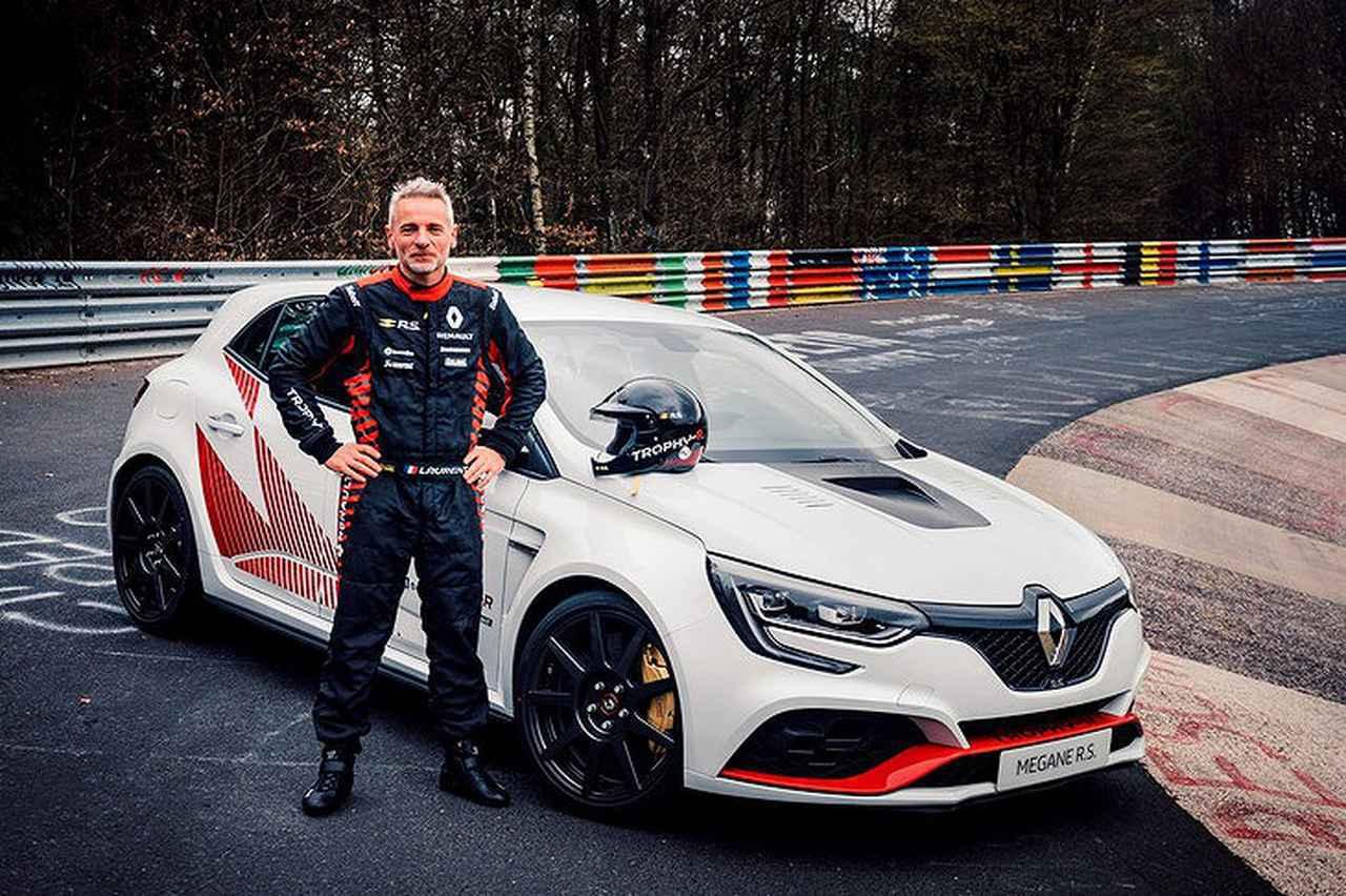 画像: 2019年、最新の現行メガーヌR.S.をベースとしたメガーヌR.S.トロフィーRは7分40秒100を達成し、ニュルブルクリンク北コースの量産FF車最速新記録を樹立。