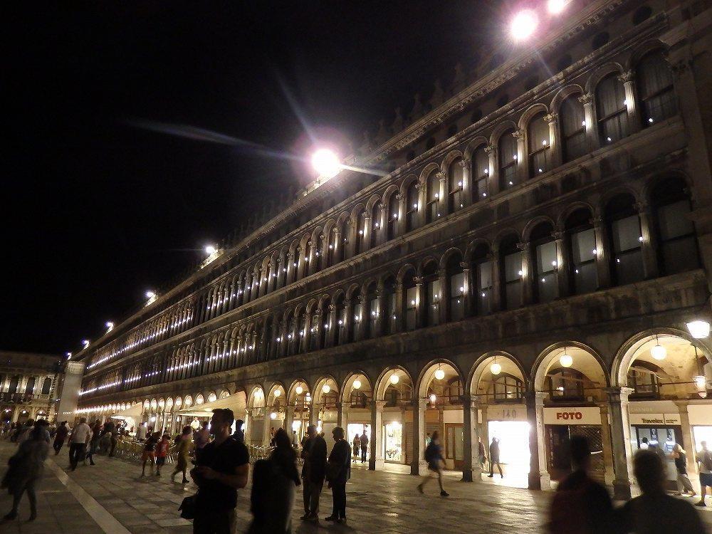 画像2: 夜のサンマルコ広場