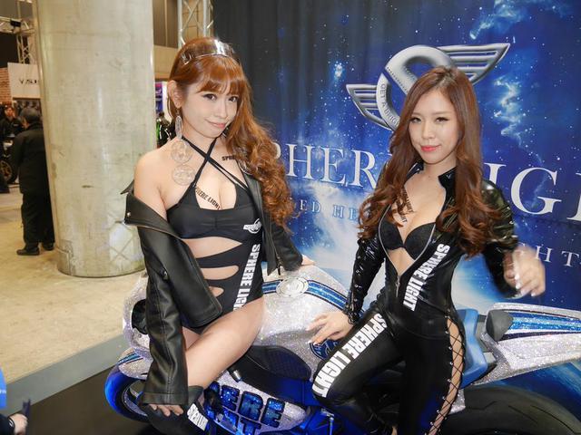 画像: 超豪華デモバイクにスフィアガール