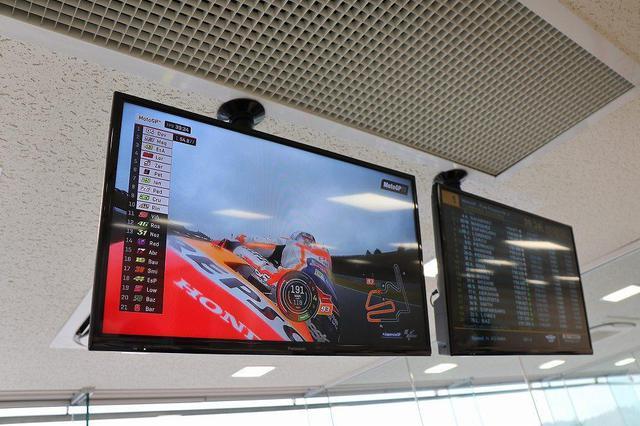 画像6: ラウンジでレース観戦