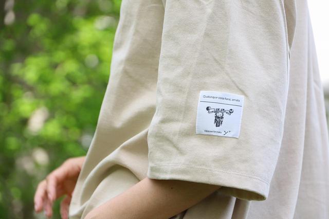 画像: 愛車のある暮らしBIG Tシャツ(ベージュ・黒) www.cotograph.net
