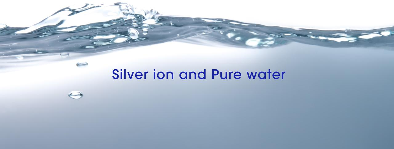 画像: 銀イオンと純水 - AG GERMFREE