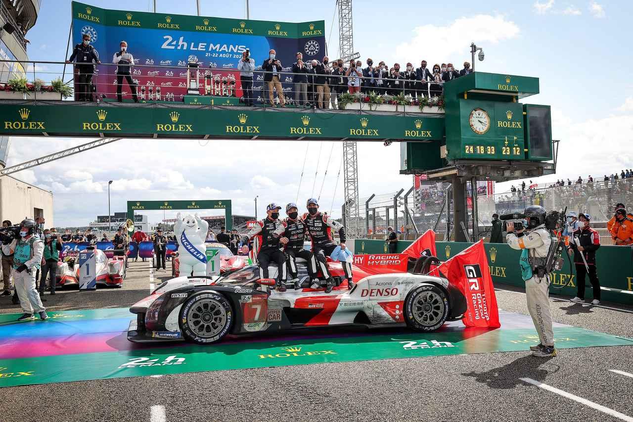 画像9: TOYOTA GAZOO Racing  1-2フィニッシュでル・マン4連覇!